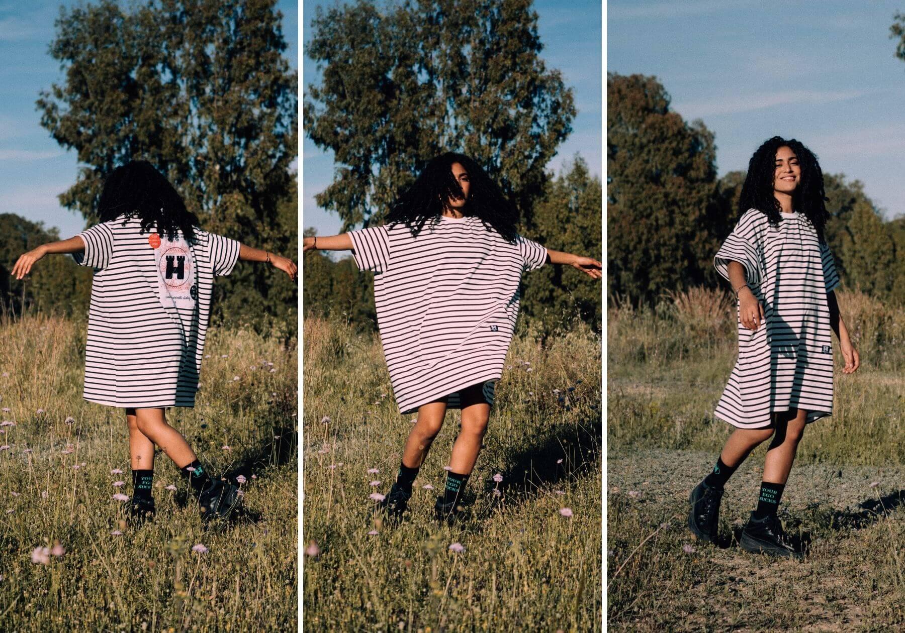colección The Equinox de la marca de streetwear artesanal Hurthado de Málaga, España