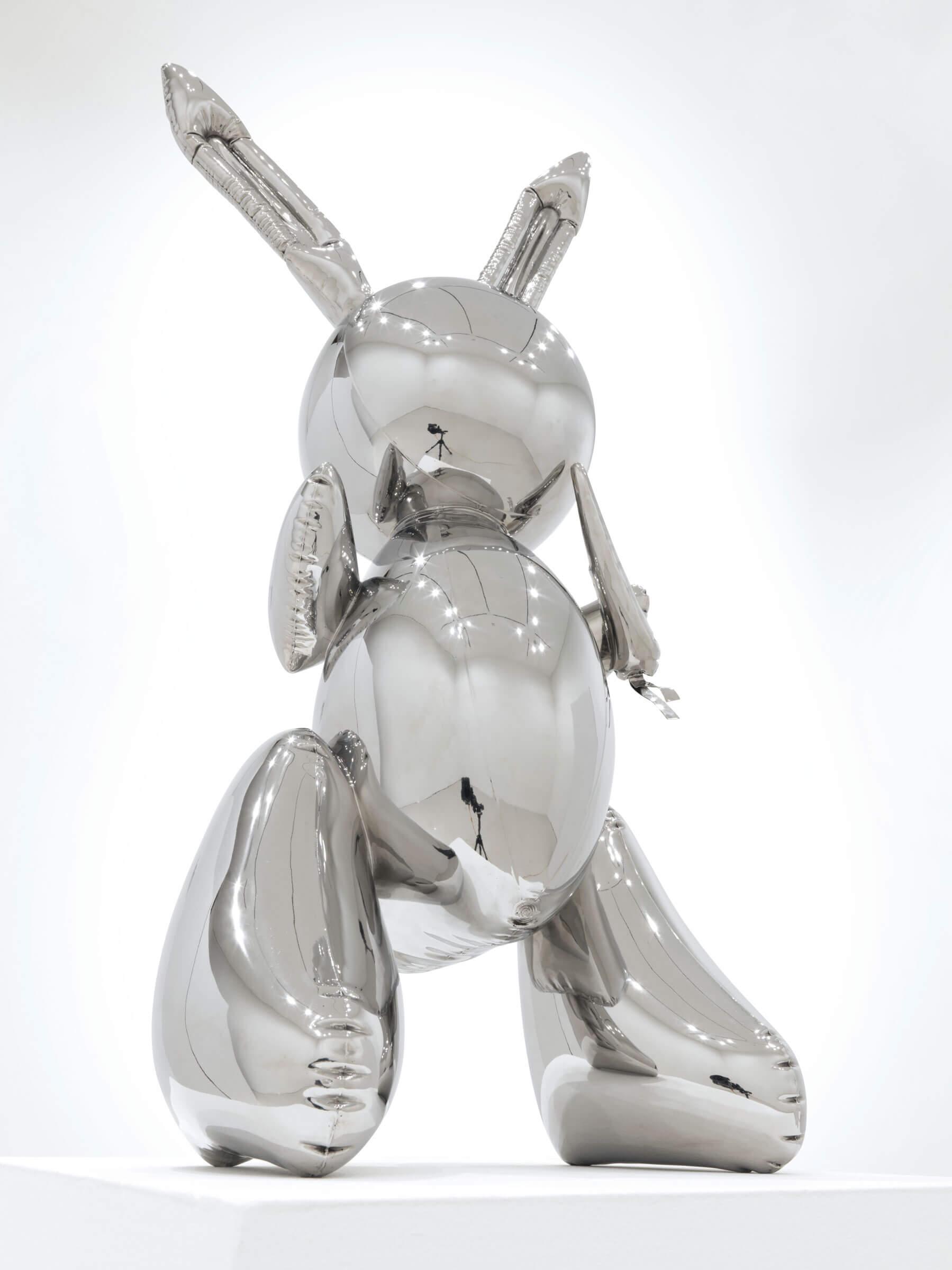 obra de Jeff Koons Rabbit más cara del mundo