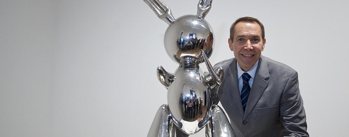 Obra de Jeff Koons se vende por 91 millones
