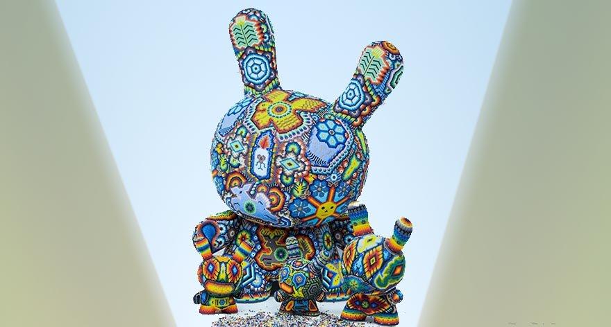 Juguetes de arte Huichol por Kidrobot