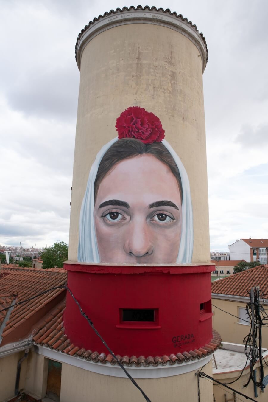 El mural de Jorge Rodríguez-Gerada