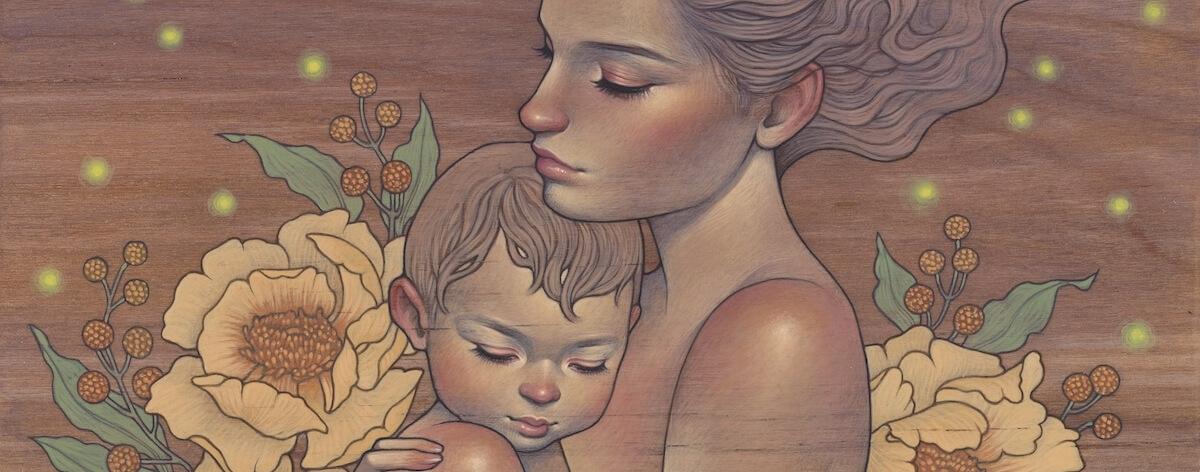 La maternidad en la exposición 'Mother and Child'