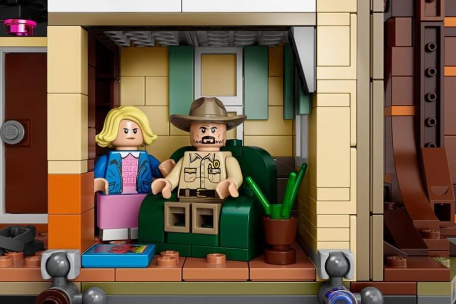 nuevo juguete de Lego y Stranger Things