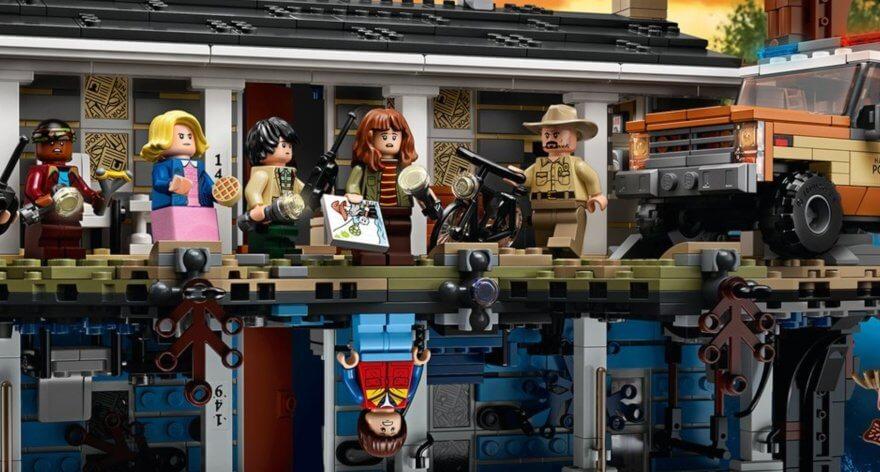 Lego y Stranger Things nos presentan esta maravilla