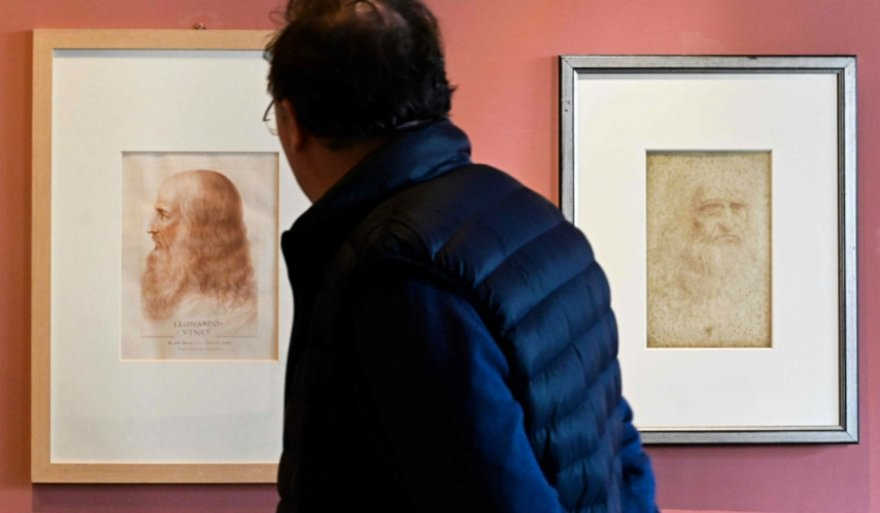Descubrieron el segundo retrato de Leonardo Da Vinci
