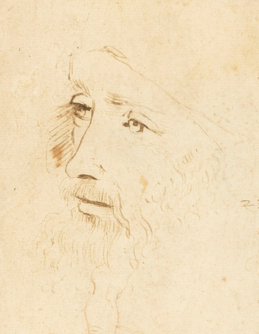 Descubren el segundo retrato de Leonardo Da Vinci