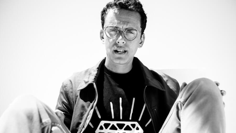 Retrato del rapero Logic