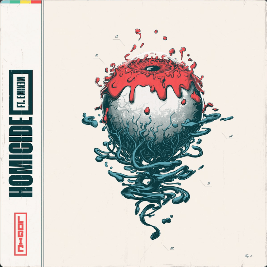 Arte del nuevo disco de Logic