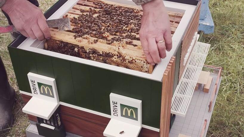 McDonalds abre mini sucursal, la más pequeña del mundo