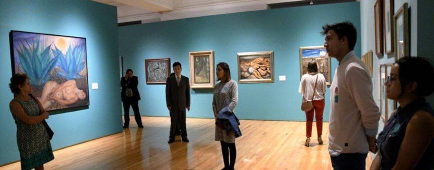 Museos del INBA sin exposiciones internacionales
