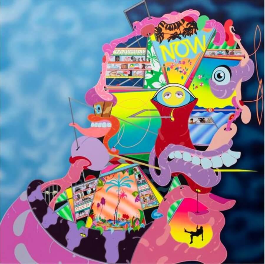 NANZUKA la nueva exhibición de Erik Parker