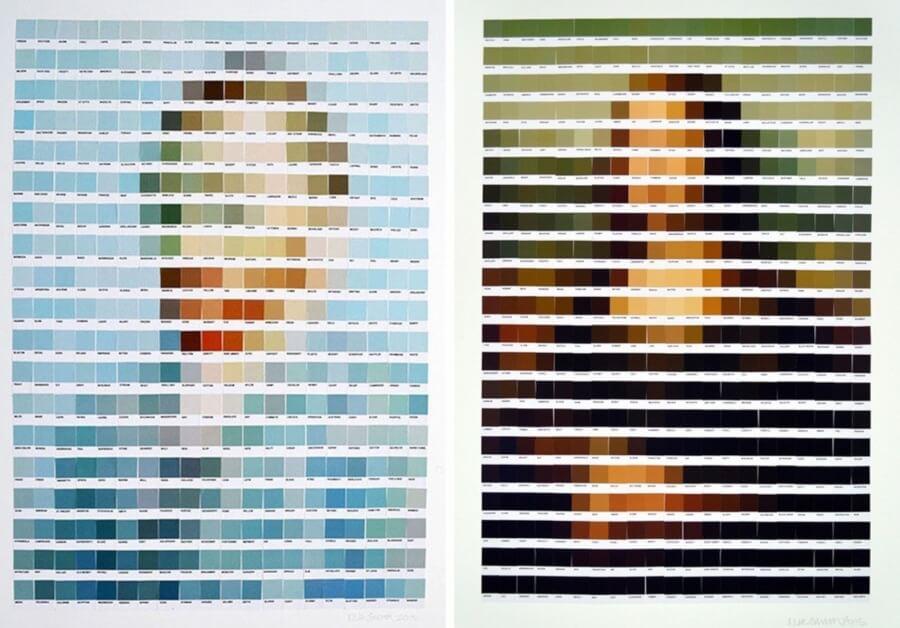 Nick Smith y sus imágenes Pantone