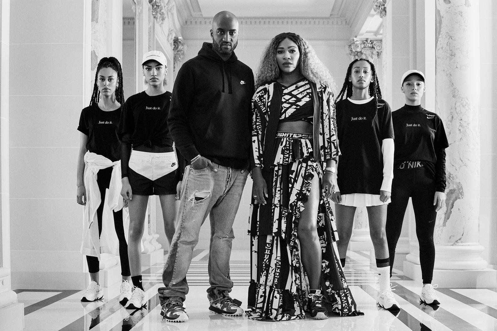 Colección Nike x Serena x Virgil Abloh