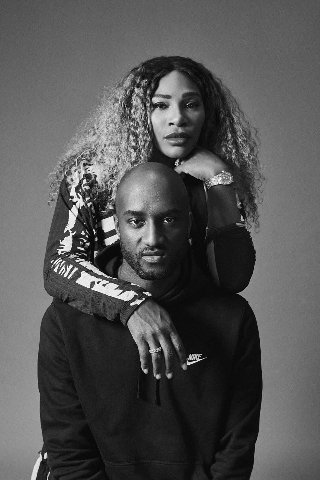 Serena Williams y Virgil Abloh