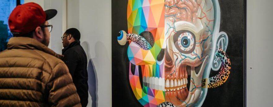 Okuda presentó su nueva exposición «Metamorfosis»