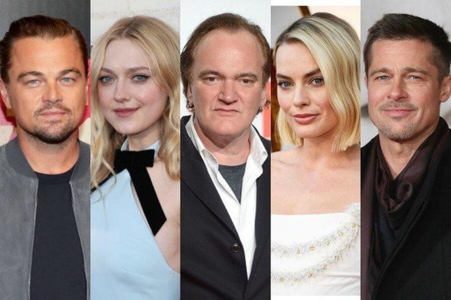 Actores de la nueva película de Quentin Tarantino