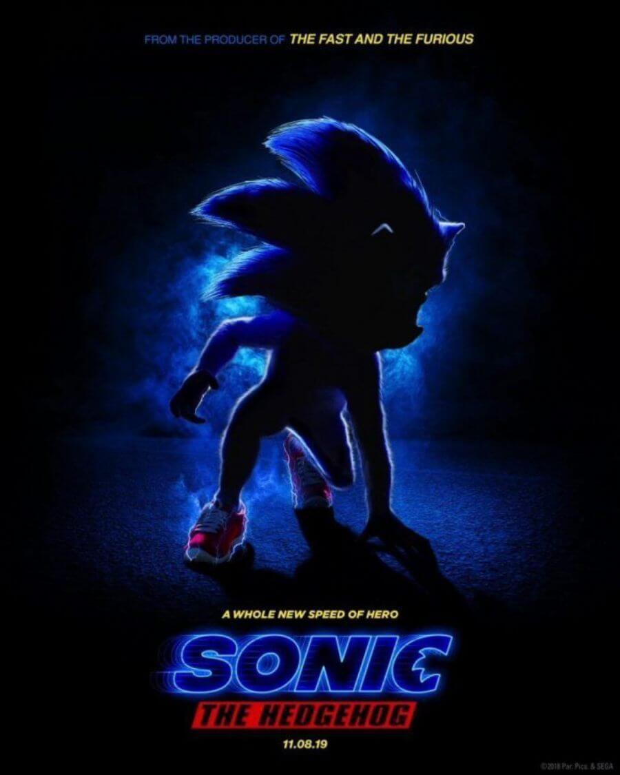 poster película Sonic