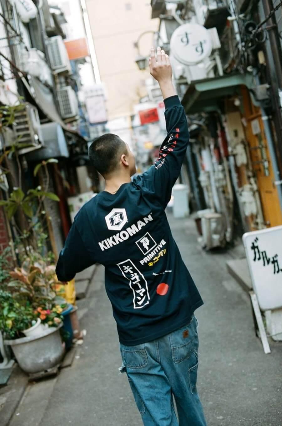 Kikkoman ahora en el streetwear