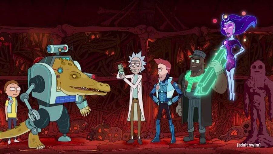 Rick and Morty preparan su cuarta temporada