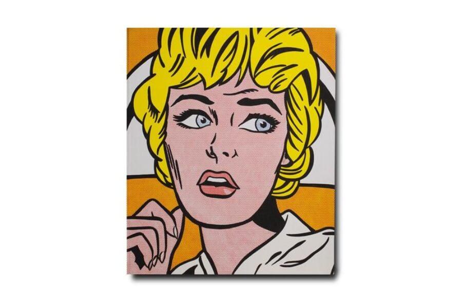 Roy Lichtenstein es inmortalizado en esta publicación