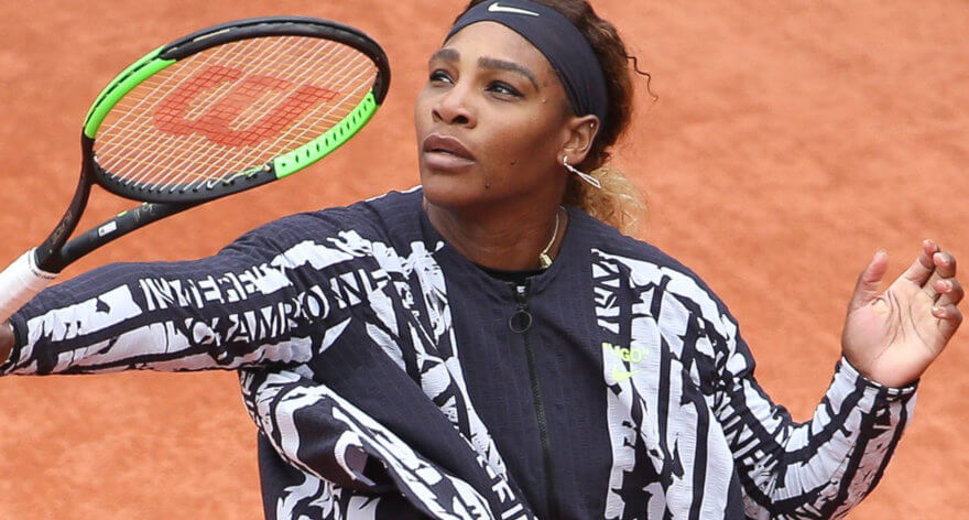 Serena Williams viste outfit de Nike y Virgil Abloh