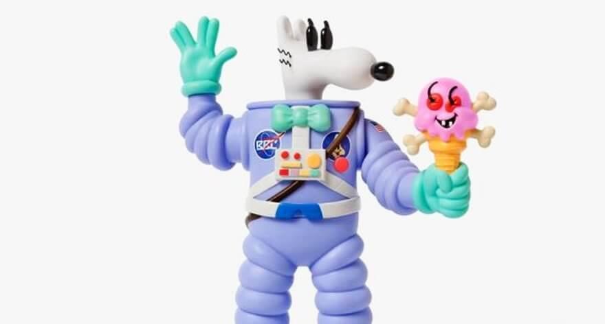 Steven Harrington y ICECREAM presentan nuevo juguete