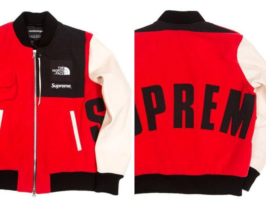 colección de SUPREME y Nike con Clothesurgeon