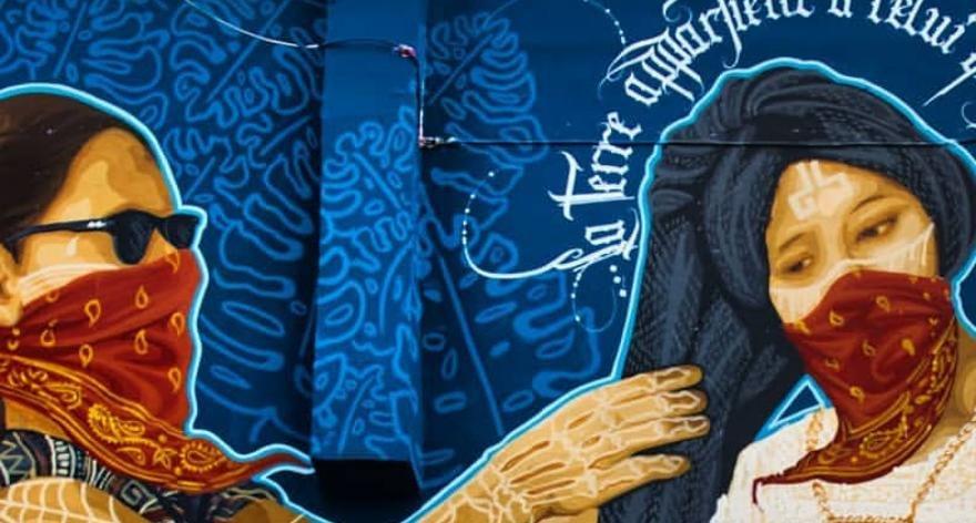 Tlacolulokos, mural mexicano censurado en Francia