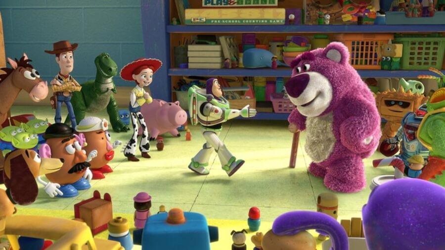 Toy Story 3 en el Top 5 de películas