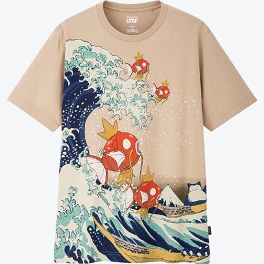 Las nuevas camisetas Pokémon