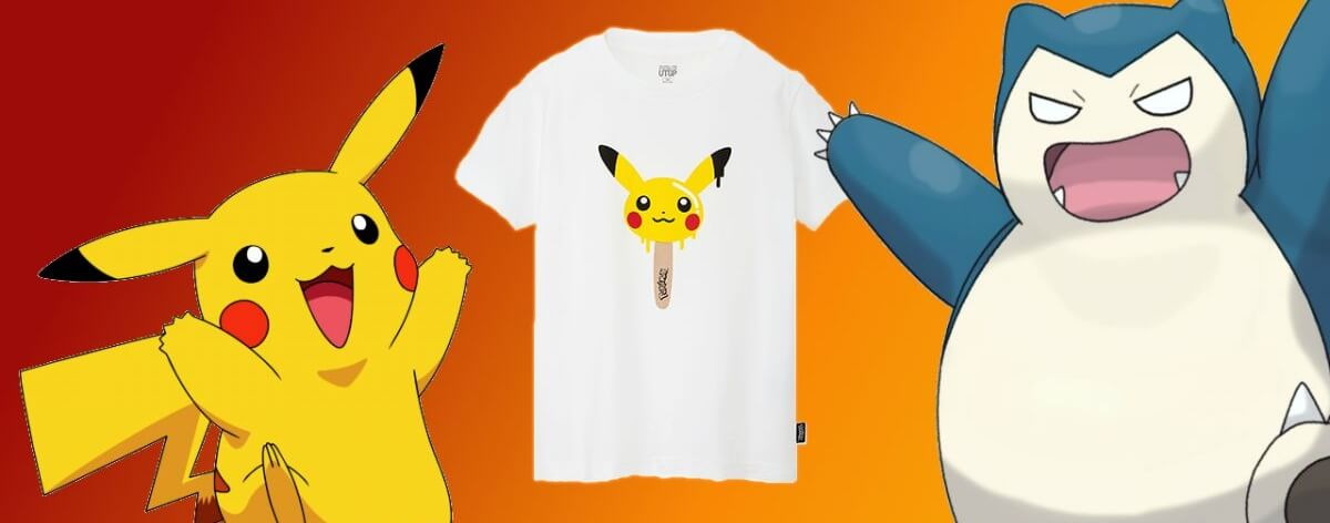 Uniqlo y Pokémon nos presentan estas t-shirts