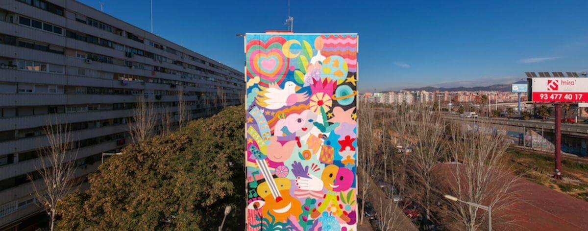 Zosen Bandido y Mina Hamada crean nuevo mural