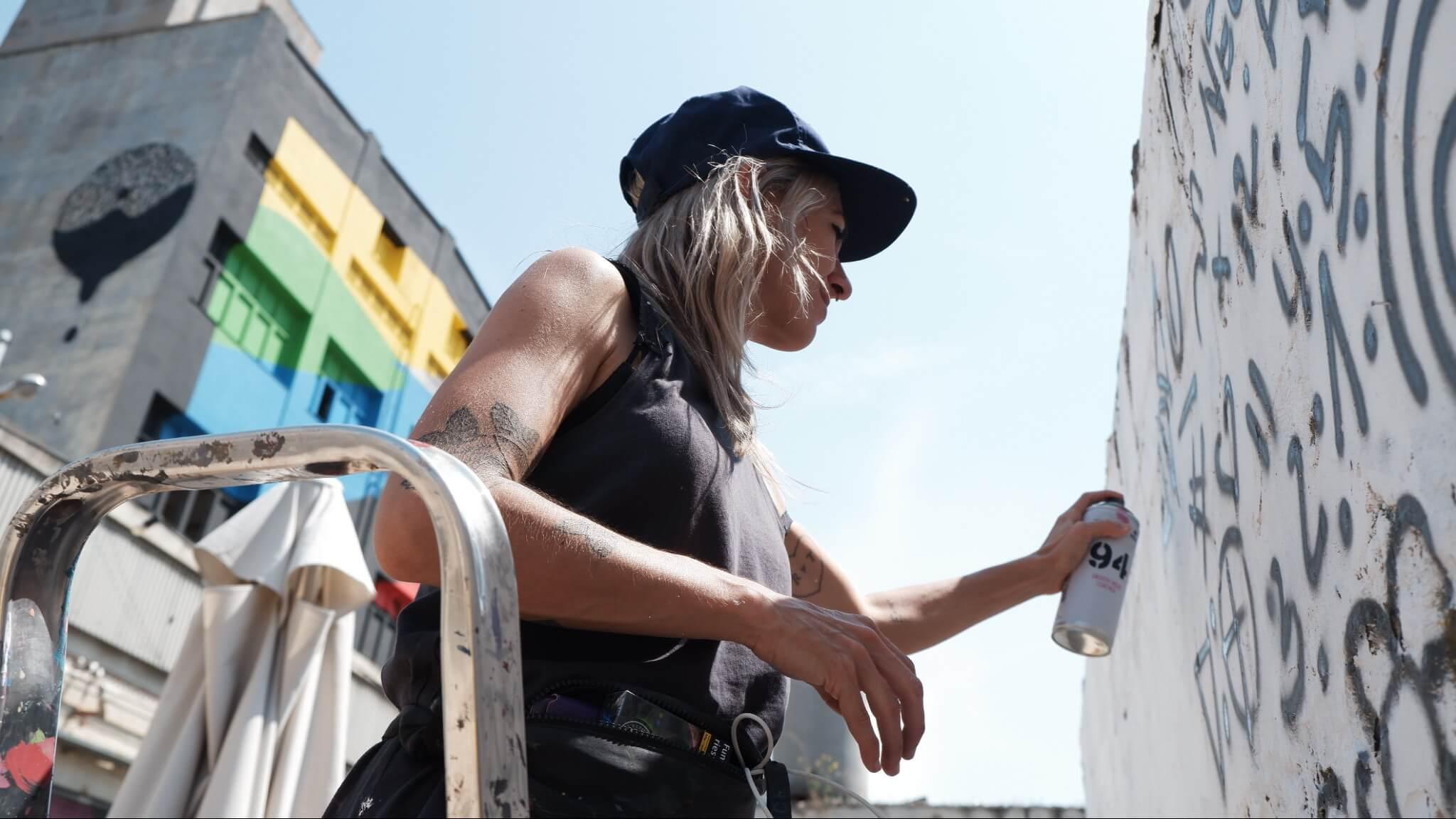 festival de arte urbano B-MURALS en Barcelona
