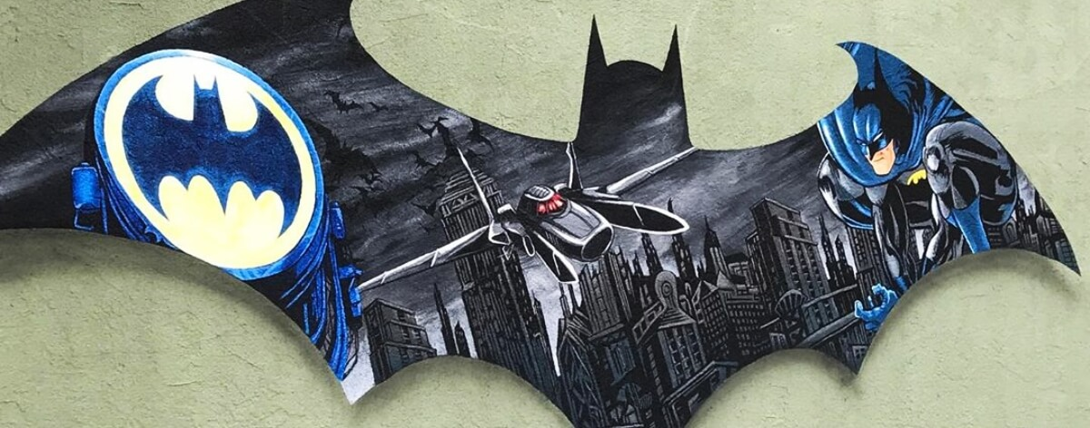 Batman es homenajeado con graffittis en Seattle