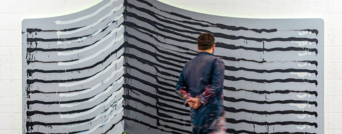 Exposición individual de Jason Revok en Detroit