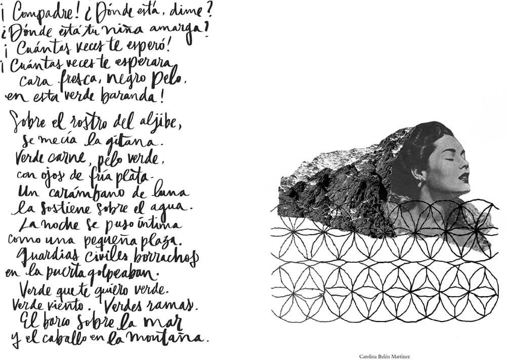 ilustración del libro de García Lorca