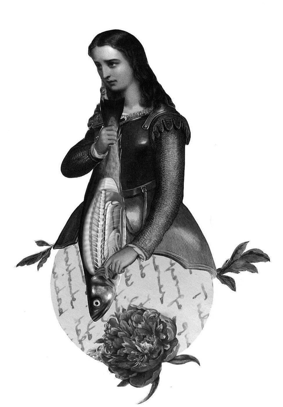 Ilustración de poema del libro Romancero Gitano de García Lorca