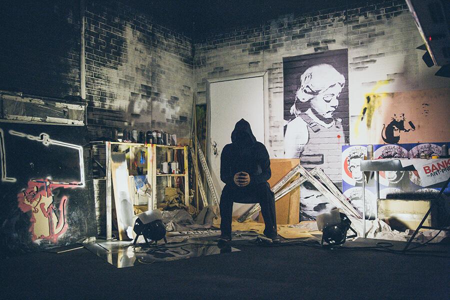 primera muestra de Banksy en La Térmica, Málaga