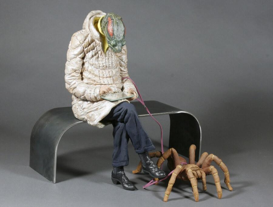 Alessandro Gallo y sus esculturas animales