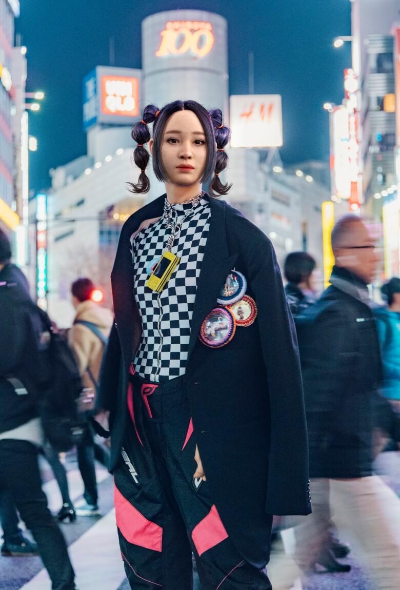 Aoiprism, la nueva modelo virtual japonesa