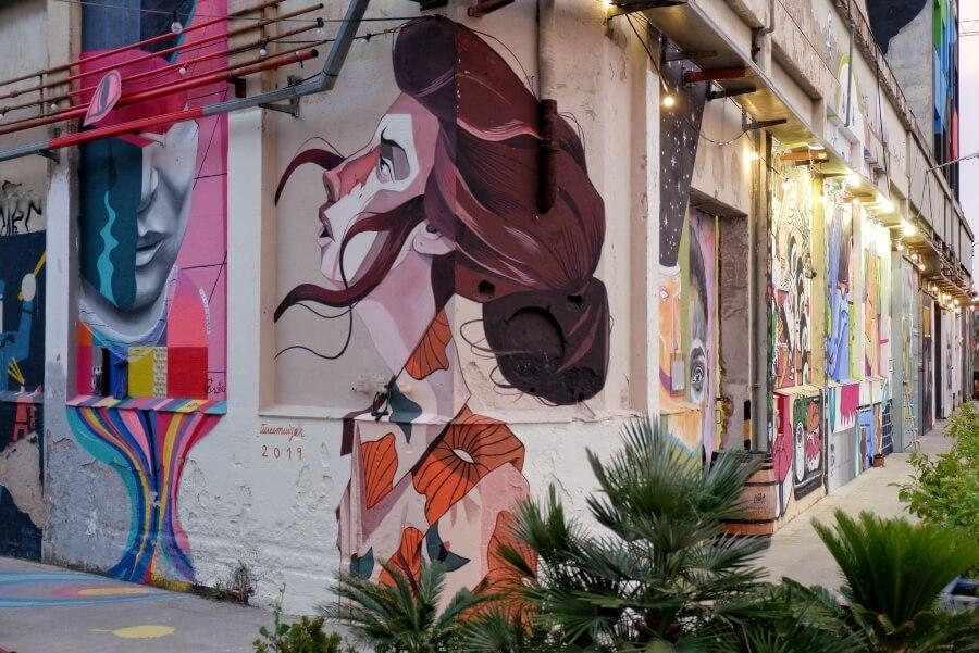 B Murals Arte Urbano