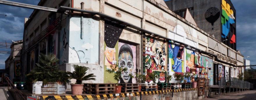 Festival de arte urbano en Barcelona: B MURALS