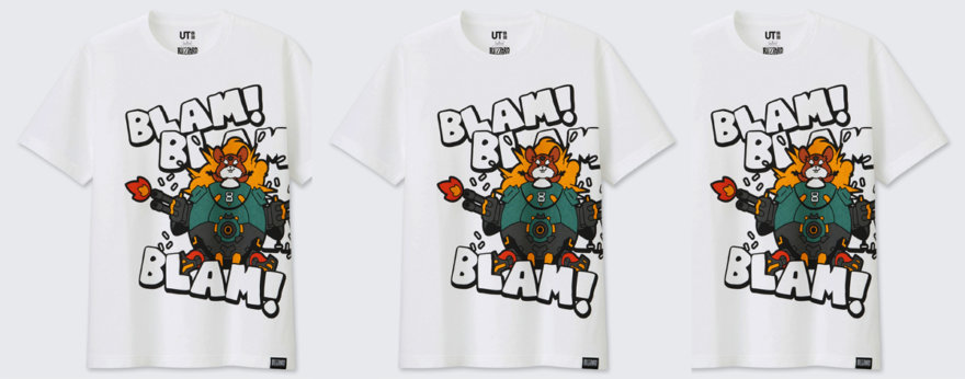 Blizzard y Uniqlo lanzan playeras gamer