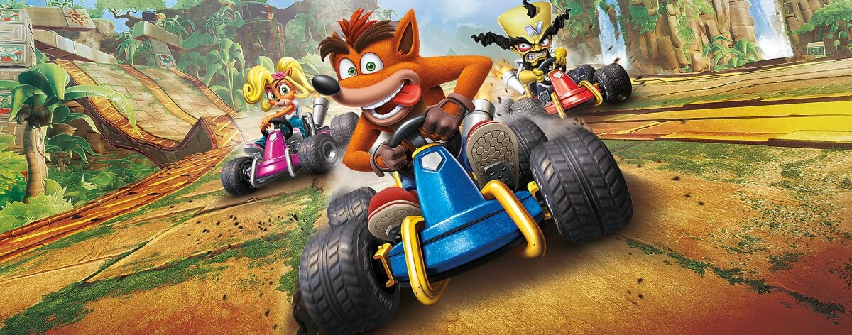 Crash Team Racing regresa a las consolas en HD