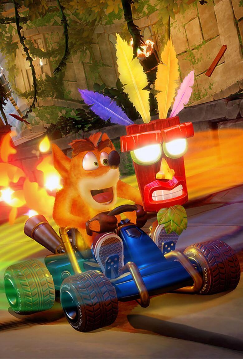 Crash Team Racing regresa a las consolas en HD