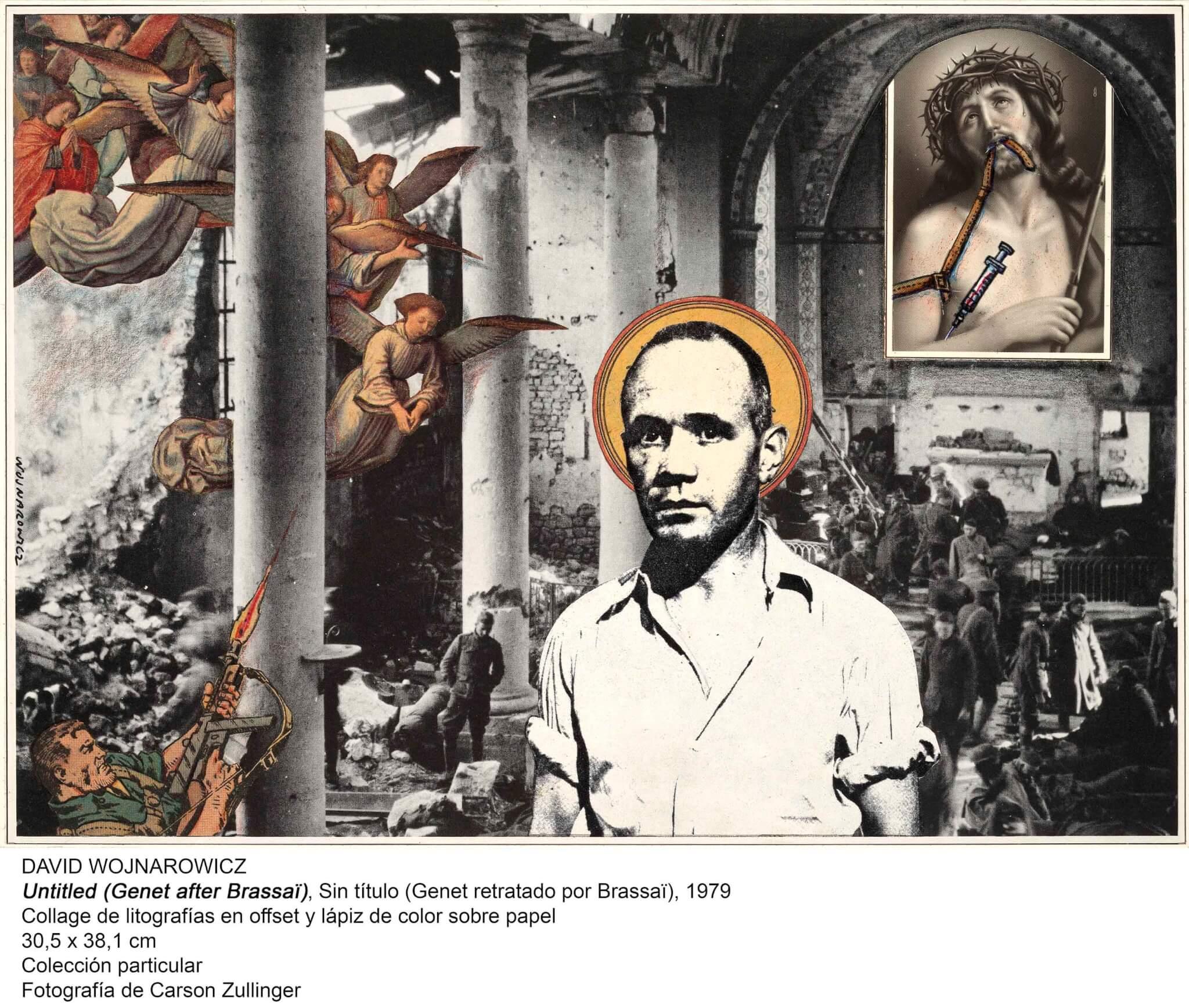 collage de David Wojnarowicz