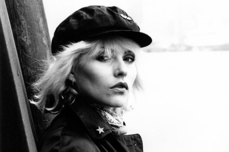 Retrato de la vocalista de Blondie
