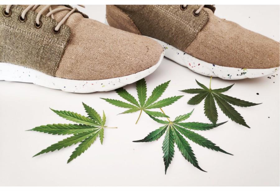 Tenis hechos a base de Cannabis DopeKicks