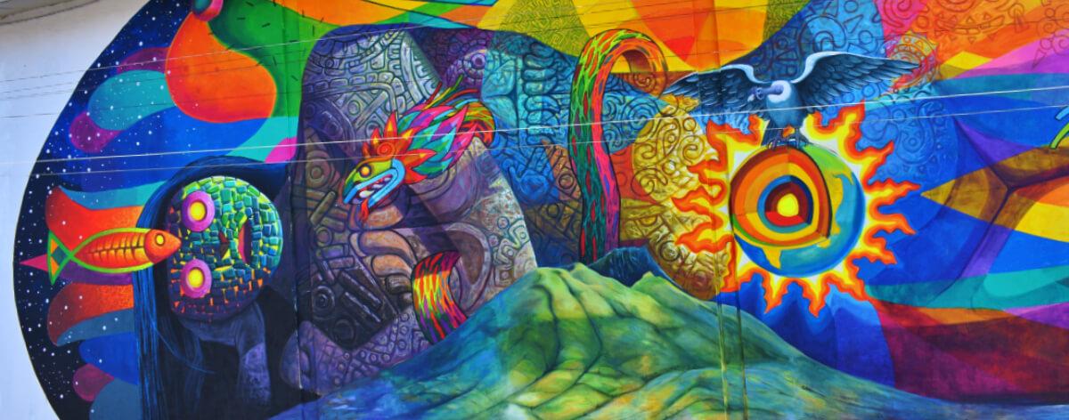 Festival de arte urbano en la sierra de Ecuador