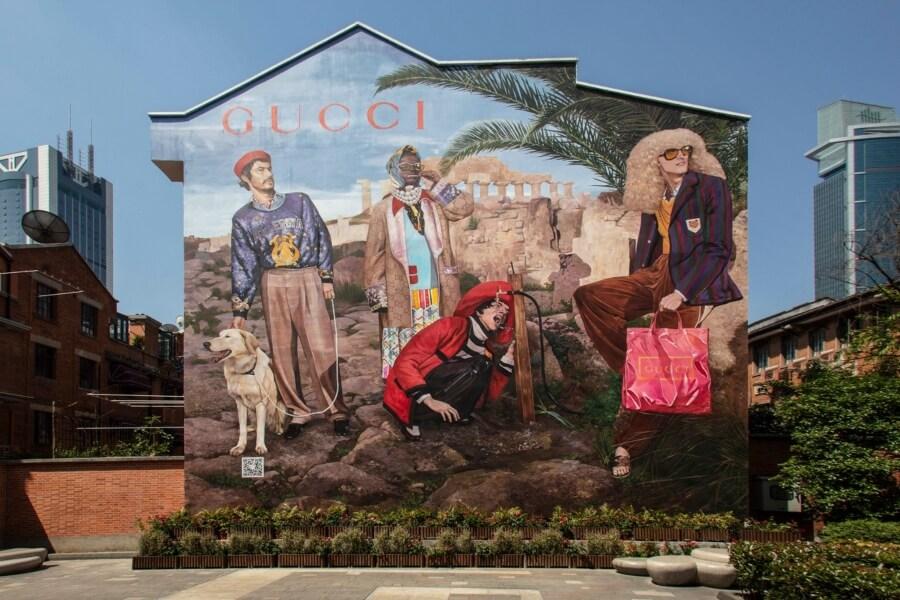 Gucci crea murales por todo el mundo
